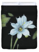 Blue Eyed Grass - 2 Duvet Cover