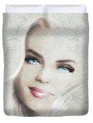 Blue Eyes Blond  Duvet Cover