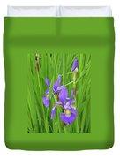 Blue Flag Iris-1  Duvet Cover