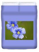 Blue Flax #2 Duvet Cover