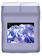 Blue Floral Art Prints Blue Hydrangea Flower Baslee Troutman Duvet Cover