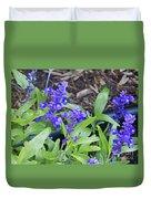 Blue Flower B6 Duvet Cover