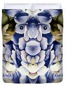 Blue Flower King Duvet Cover