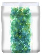 Blue Flower Duvet Cover