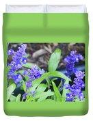 Blue Flowers B5 Duvet Cover