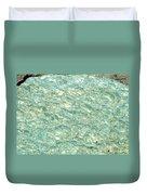 Blue Fossil Duvet Cover