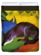 Blue Fox 1911 Duvet Cover