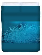 Blue Frost Duvet Cover
