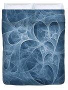Blue Fugue Duvet Cover