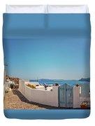 Blue Gate Santorini Duvet Cover