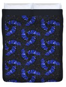Blue Glass  Duvet Cover