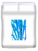 Blue Grass Duvet Cover