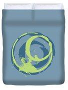 Blue Green 2 Duvet Cover