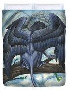 Blue Griffin Duvet Cover