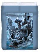 Blue Grotto Duvet Cover