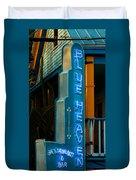 Blue Heaven Duvet Cover