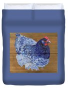 Blue Hen Duvet Cover