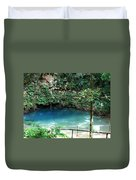 Blue Hole National Park Duvet Cover