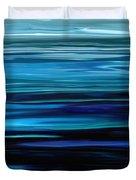 Blue Horrizon Duvet Cover