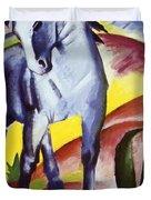 Blue Horse I 1911 Duvet Cover