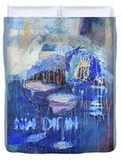 Blue Hour Duvet Cover