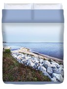 Blue Hour On Choctawhatchee Bay Duvet Cover