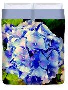 Blue Hues Duvet Cover