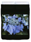 Blue Hydrangea Buds Duvet Cover