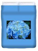 Blue Hydrangea Floral Flowers Art Prints Baslee Troutman Duvet Cover