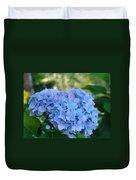 Blue Hydrangea Flower Art Prints Baslee Troutman Duvet Cover