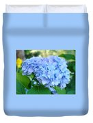 Blue Hydrangea Flowers Art Botanical Nature Garden Prints Duvet Cover