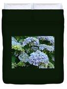 Blue Hydrangeas Art Prints Hydrangea Flowers Giclee Baslee Troutman Duvet Cover