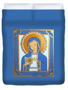 Blue Icon Duvet Cover
