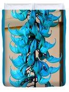 Blue Jade Strand Duvet Cover