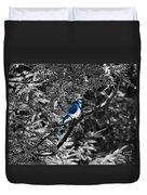 Blue Jay Duvet Cover