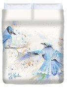 Blue Jays Duvet Cover