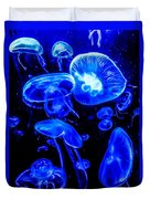 Blue Jellies Duvet Cover