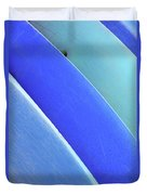 Blue Kayaks Duvet Cover by Brandon Tabiolo - Printscapes