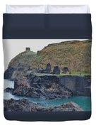 Blue Lagoon 2 Abereiddy Wales Duvet Cover