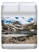 Blue Lake Colorado Duvet Cover