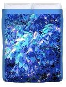 Blue Autumn  Duvet Cover