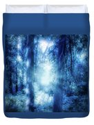 Blue Lights Duvet Cover