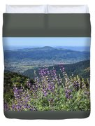 D3b6377-blue Lupine And Kenwood  Duvet Cover