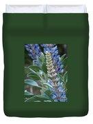 Blue Lupine Duvet Cover
