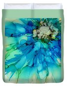 Blue Magnificence Duvet Cover