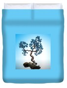 Blue Math  Tree 2 Duvet Cover by GuoJun Pan