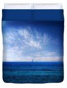 Blue Mediterranean Duvet Cover by Stelios Kleanthous