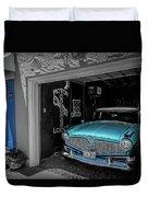 Blue Memories Duvet Cover