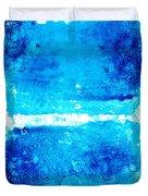 Blue Modern Art - Two Pools - Sharon Cummings Duvet Cover