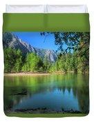 Blue Mood In Yosemite Duvet Cover
